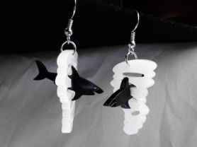 Sharknado Inspired 3D Pendant Charms