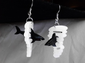 Sharknado Inspired 3D Pendant Charms