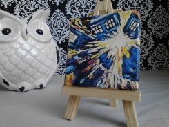 Doctor Who Picasso Exploding Tardis