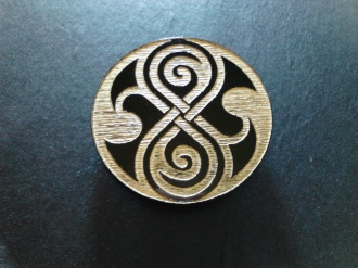 Doctor Who Rassilon Symbol Magnet