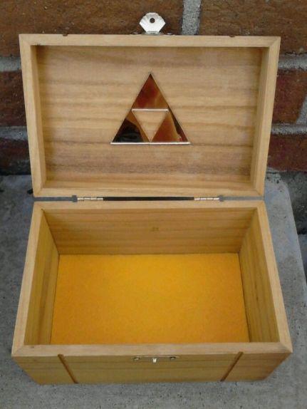 Legend of Zelda Triforce Trinket Box