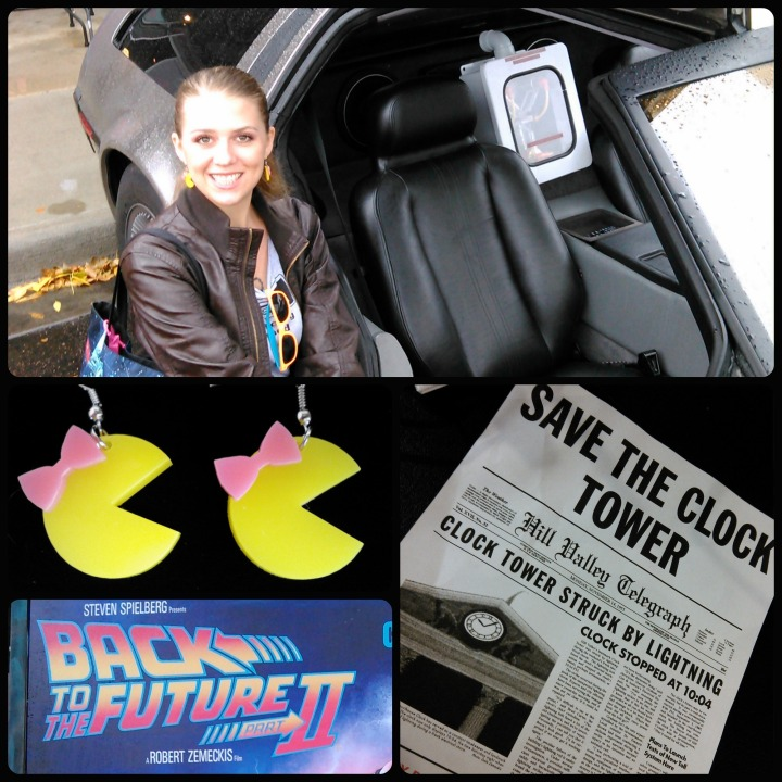 meredith funk totally 80s pizza back to the future day 2015
