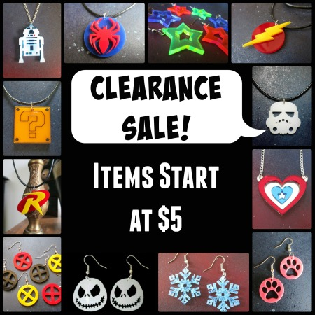 Black Friday Clearance ~ foxyfunk designs