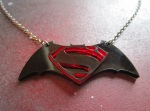 batman vs superman logo necklace chain (2)