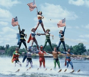 superhero water ski