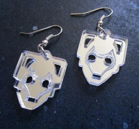 cyberman-handles-head-silver-earrings-doctor-who-2